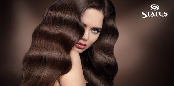 Скидки до 71% на наращивание волос в салоне Status Professional