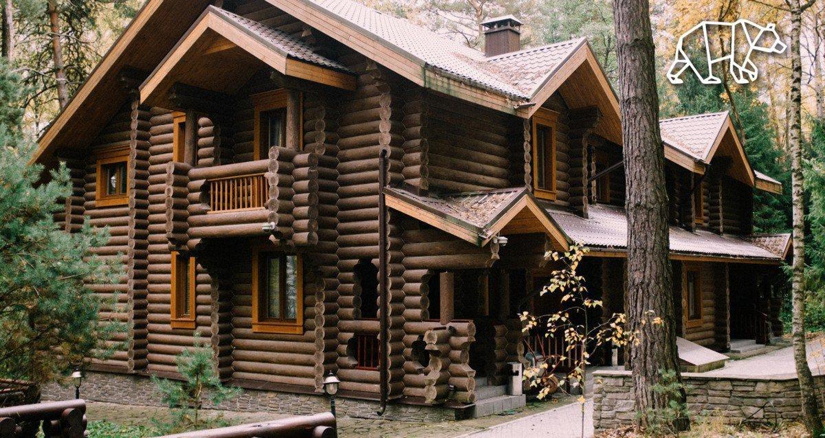 Скидки до 48% на проживание в эко отеле «Мишкина Гора»