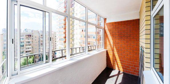 Скидка 52% на отделку балконов и остекление