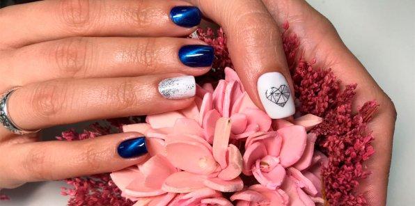 Скидка 50% на ногтевой сервис в студии красоты La vie Jadan
