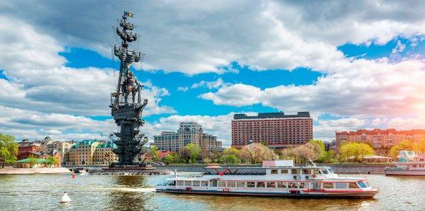 Скидки до 57% на прогулки на теплоходе по Москве-реке