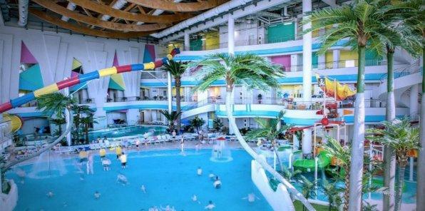 Развлекательный аквапарк «Мореон»