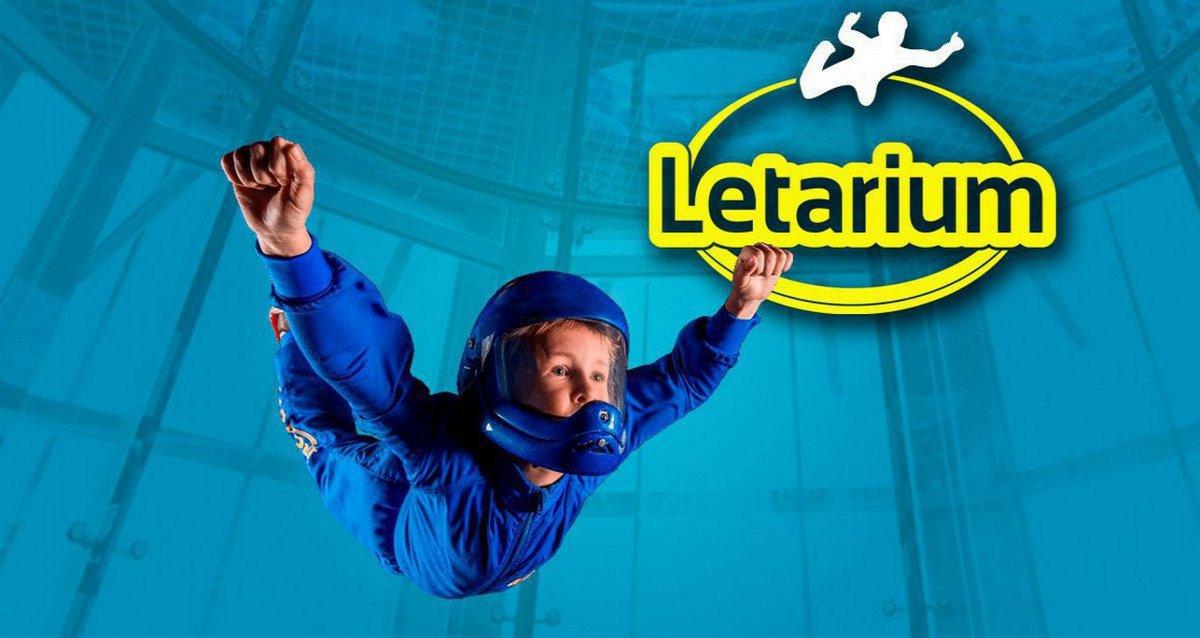 Скидки до 58% на полет в аэротрубе от комплекса «Летариум»