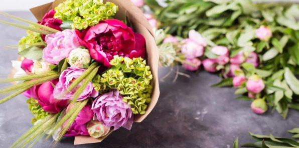 Скидки до 22% на букеты в компании Lavanda flowers