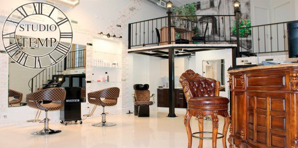 Скидки до 63% на услуги для волос в STUDIO TEMPO