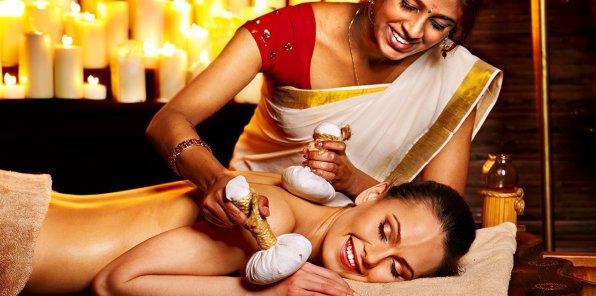 Скидки до 65% на индийский и аюрведический массаж