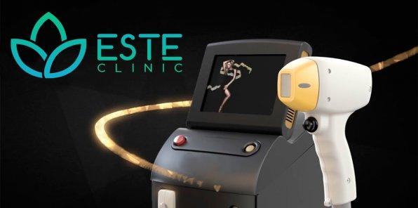 Скидки до 75% на лазерную эпиляцию в Este Clinic