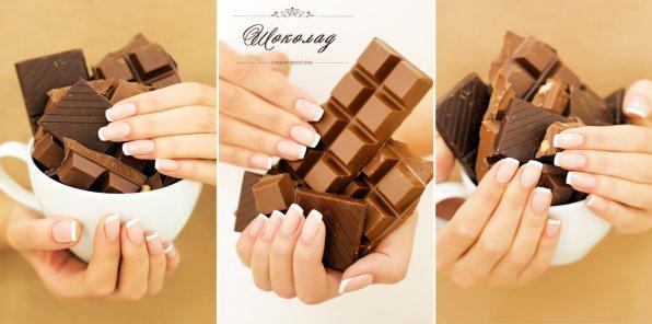 Скидки до 67% на ногтевой сервис в студии «Шоколад»