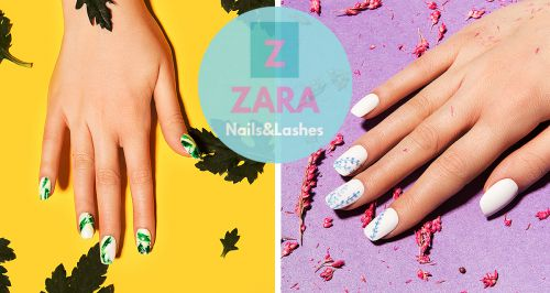Скидки до 89% на маникюр в ZARA Nails&Lashes