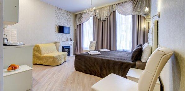 Скидки до 52% на проживание в отеле «Аттенд»