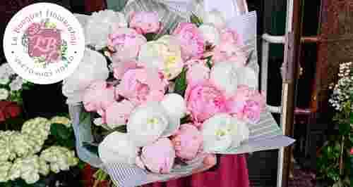 Скидки до 60% на букеты в цветочной лавке LE BOUQUET