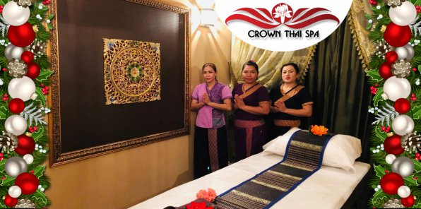 Скидки до 67% на массаж и SPA-программы в CROWN THAI SPA