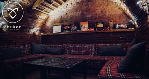 Скидка 50% на меню и напитки в CHOKER lounge-bar