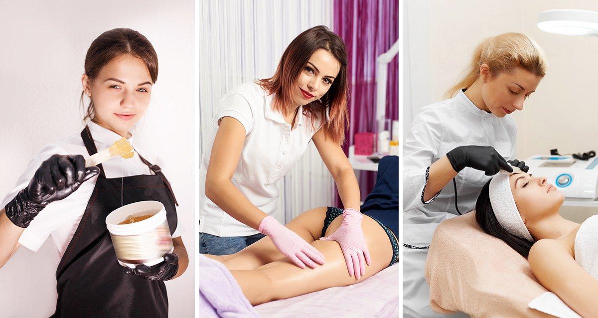 Скидки до 50% на курсы эпиляции и косметологии