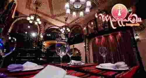 Скидки до 50% на все в ресторане Marrakesh lounge