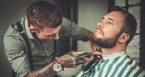 Скидка 50% на услуги Blackout Barbershop