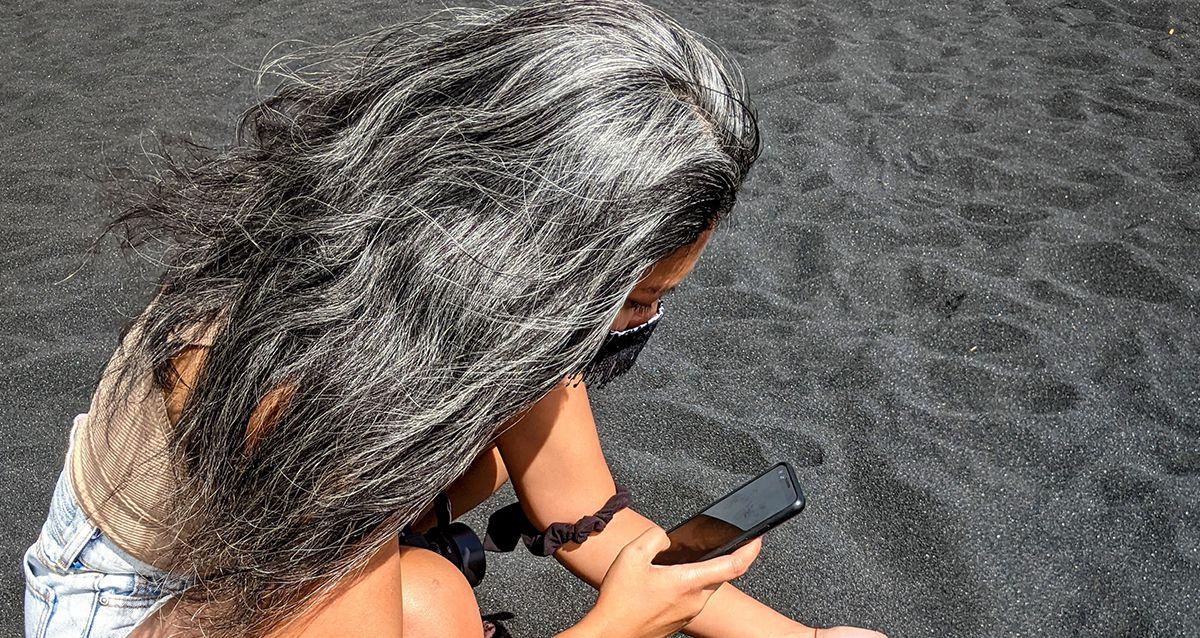 Почему волосы рано седеют?
