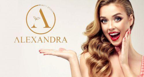 Скидки до 65% на услуги для волос в салоне красоты «Александра»