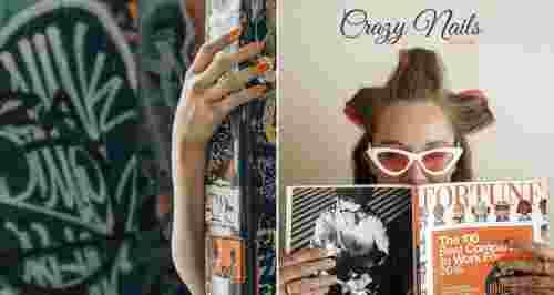 Скидки до 65% в сети ногтевых студий Crazy Nails