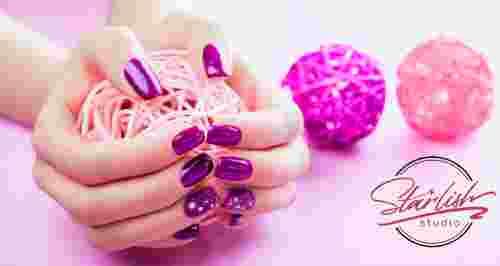 Скидки до 75% на ногтевой сервис в Starlish Studio