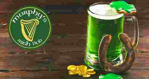 Скидки 50% в настоящем ирландском пабе Murphy's Pub