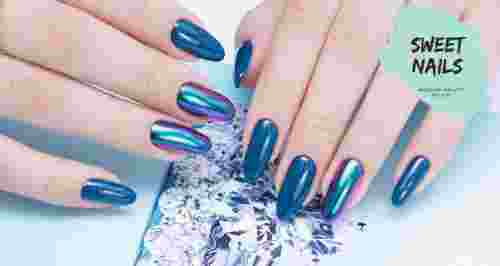 Скидки до 80% на ногтевой сервис в Sweet Nails