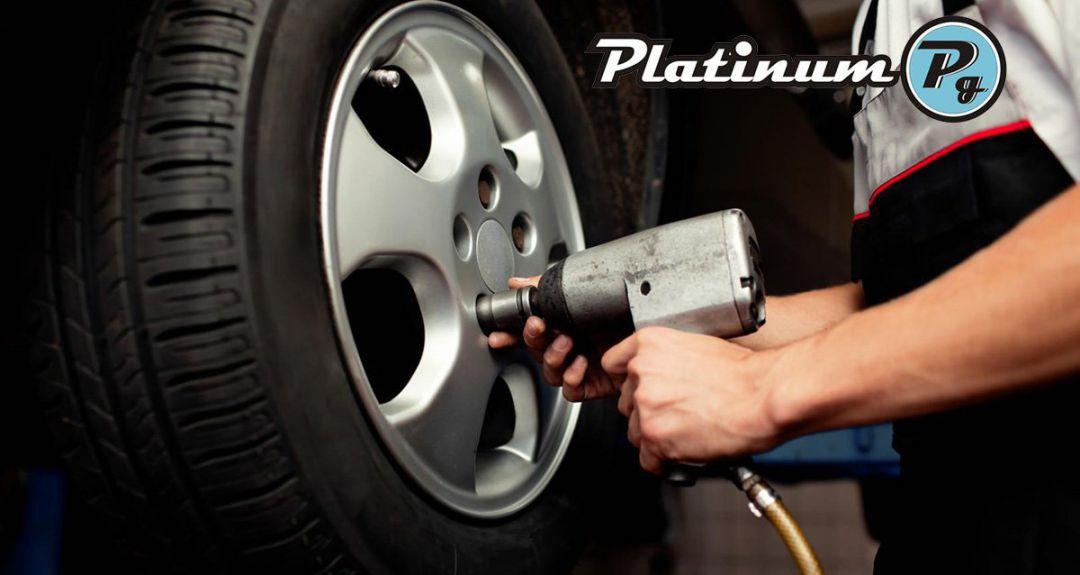 990 р. за шиномонтаж в автосервисе PlatinumG