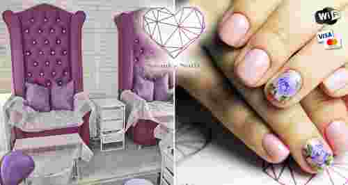 Скидки до 60% на услуги студии маникюра Swanky Nails