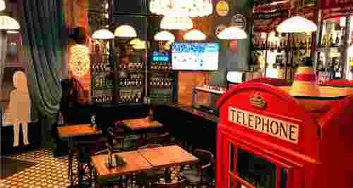 Скидки до 40% на меню в пабе London beer&grill