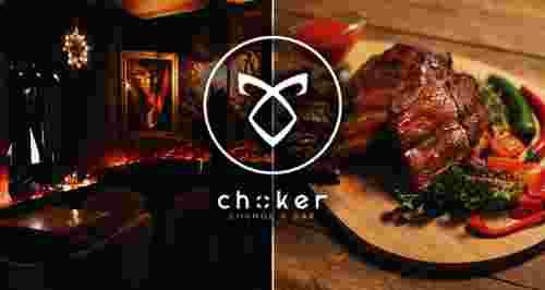 Скидка 50% на бар и меню в CHOKER lounge-bar