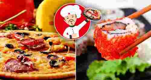 Скидки до 65% на суши, роллы и пиццу в «Мистер-Суши»