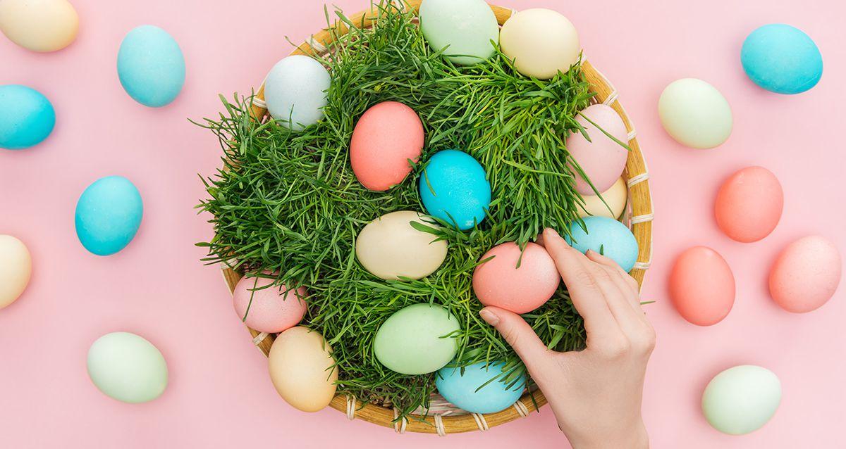 Пасха: натуральные красители для яиц