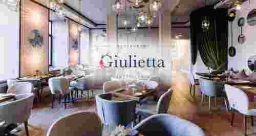 Скидки до 50% в ресторане Giulietta в центре города