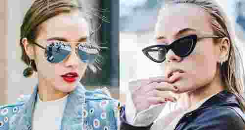 Как выбрать солнцезащитные очки под тип лица