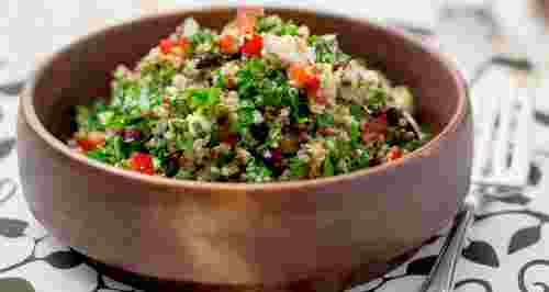 Рецепты с булгуром: холодные и теплые салаты