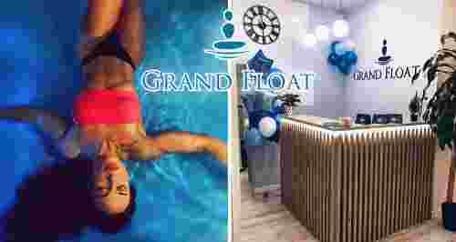 Скидки до 40% на флоатинг и массаж в релакс-центре Grand Float