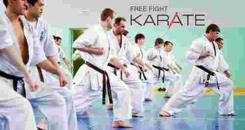 Скидки до 50% на занятия в школе Free Fight Karate