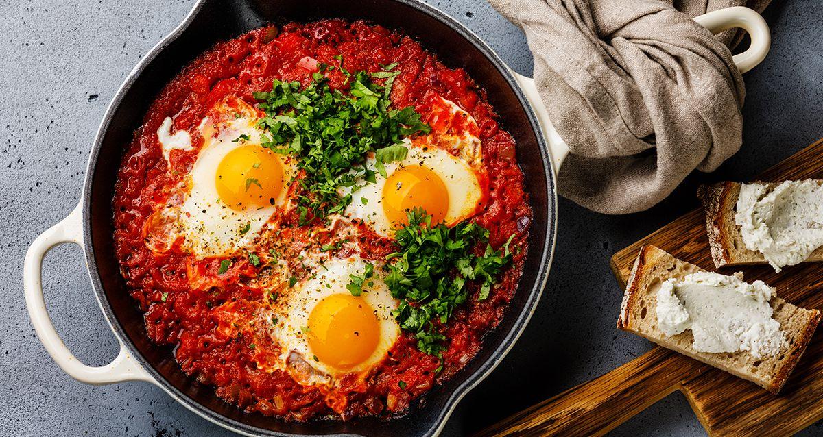 Как приготовить яичницу по-новому: 5 способов