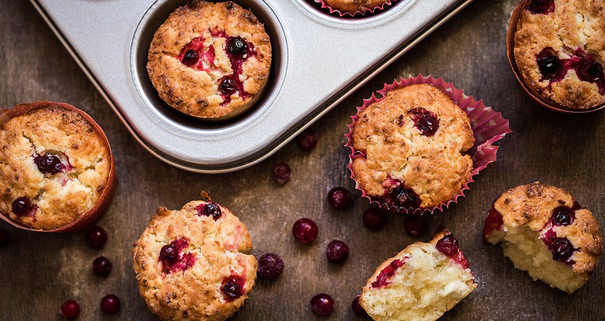 Полезные блюда октября: 3 рецепта с клюквой
