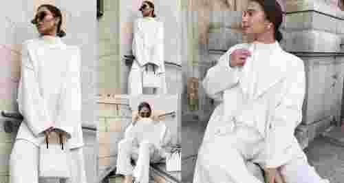 Total white look: правила сочетания белых вещей