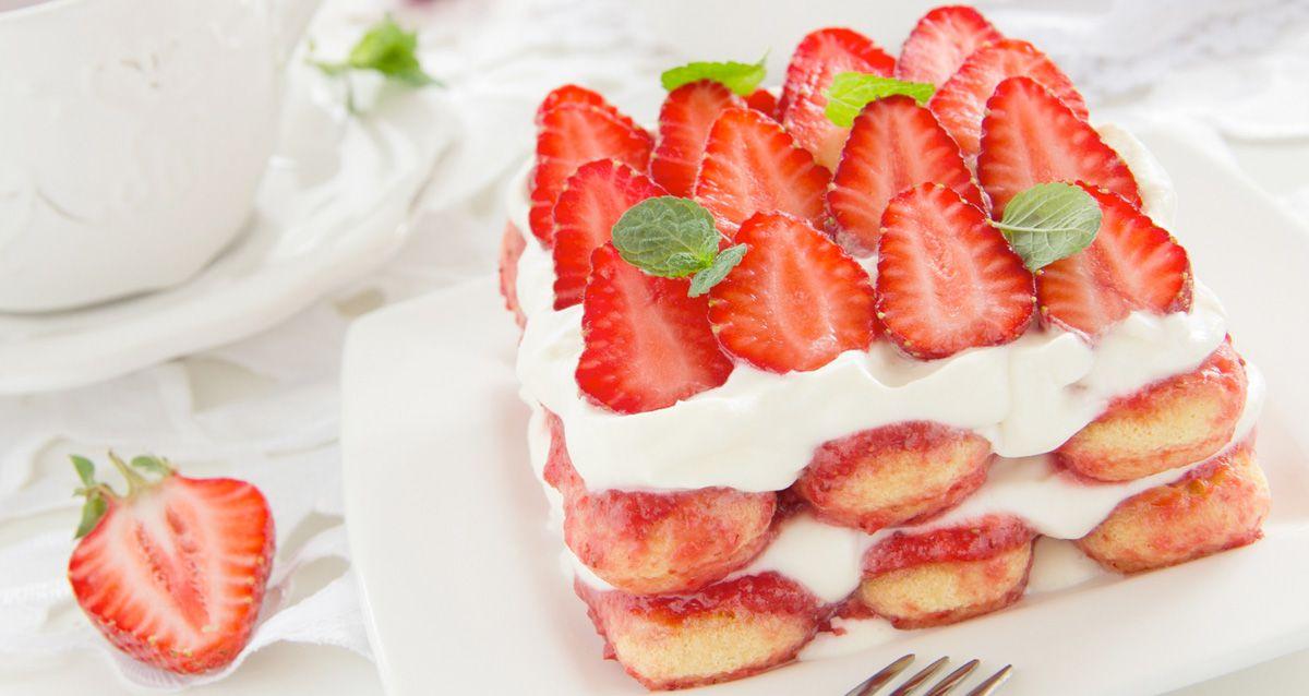 Готовим десерты с печеньем «Савоярди»