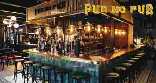 Скидки до 50% на меню и напитки в Pub No Pub на Таганке