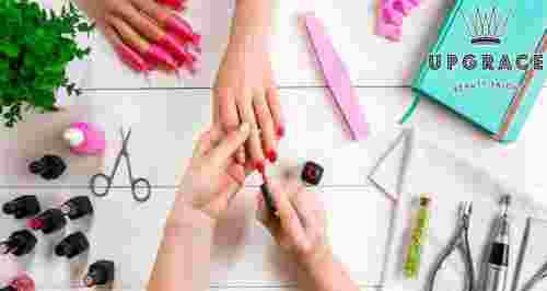 Скидки до 80% на ногтевой сервис в Up Grace