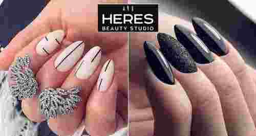 Скидка 50% на маникюр от Heres beauty studio на Таганке