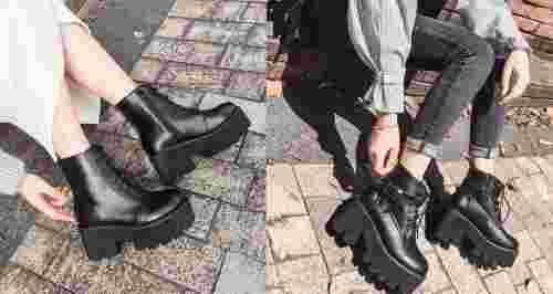 Тренд на грубость: с чем носить модные ботинки в стиле милитари