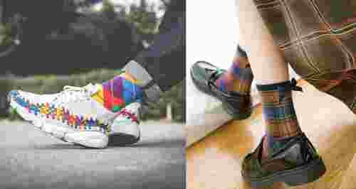 Какие носки в тренде осенью и как их носить