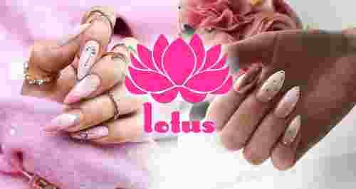 Скидки до 50% на ногтевой сервис от салона Lotus