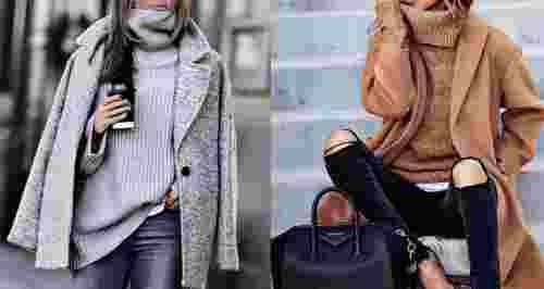 Самые модные оттенки зимы
