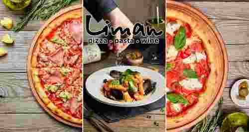 Скидки до 50% на все меню в сети итальянских ресторанов Liman