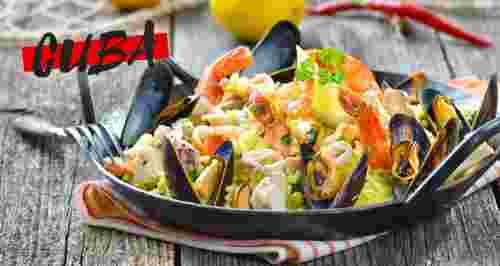 Скидка 50% на все меню в трактире испанской кухни Cuba